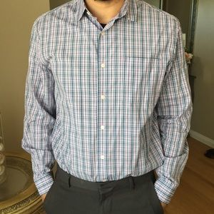 Mens button up dress shirt Elie Tahari